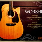 Christian Graphic: Worship Wallpaper Christian Background