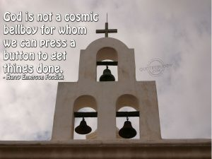 Christian Quote: Harry Emerson Fosdick Wallpaper