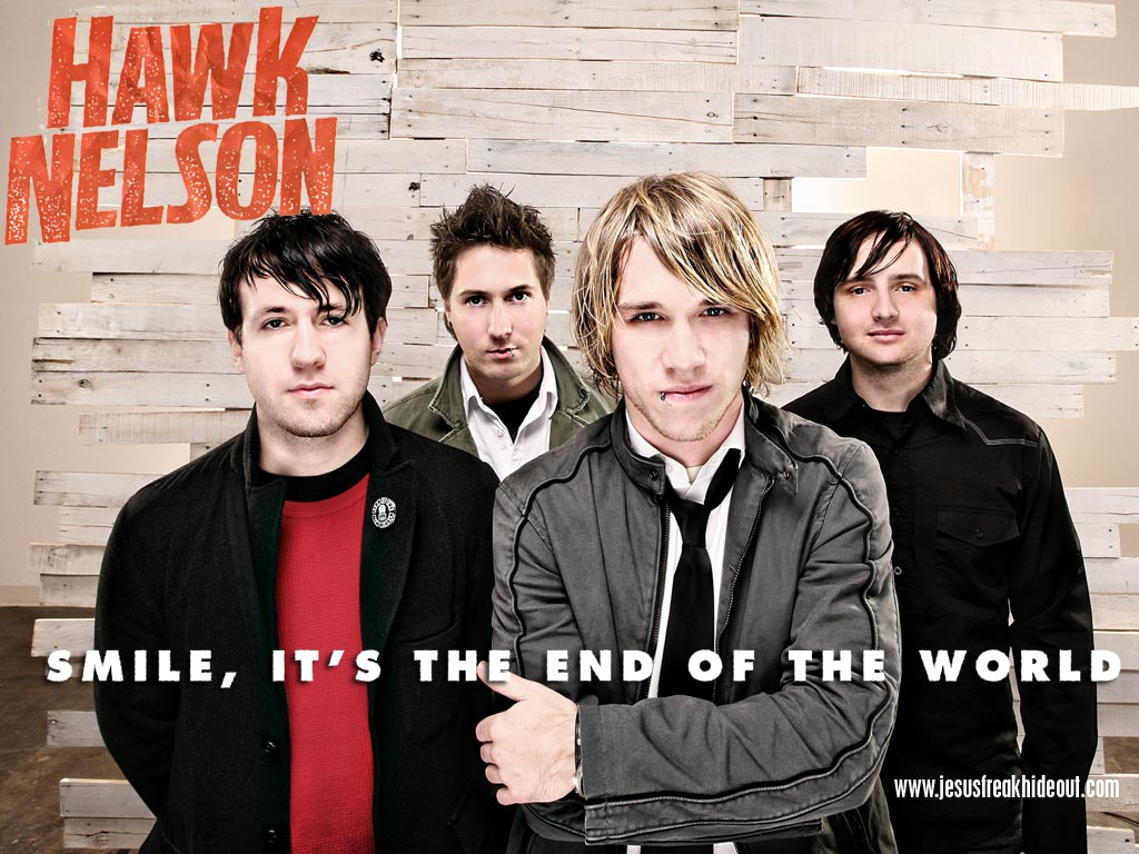 Christian Band: Hawk Nelson christian wallpaper free download. Use on PC, Mac, Android, iPhone or any device you like.