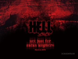 Christian Graphic: Hell Wallpaper
