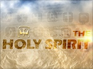 Christian Graphic: Holy Spirit Wallpaper
