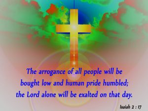 Isaiah 2:17 – The LORD Alone Will Be Exalted Wallpaper