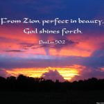 Psalm 50:2 – Perfection of Beauty Wallpaper Christian Background