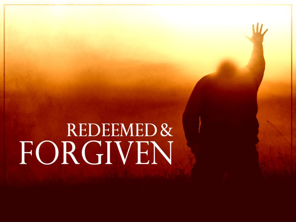 Redeemed and Forgiven christian wallpaper free download. Use on PC, Mac, Android, iPhone or any device you like.