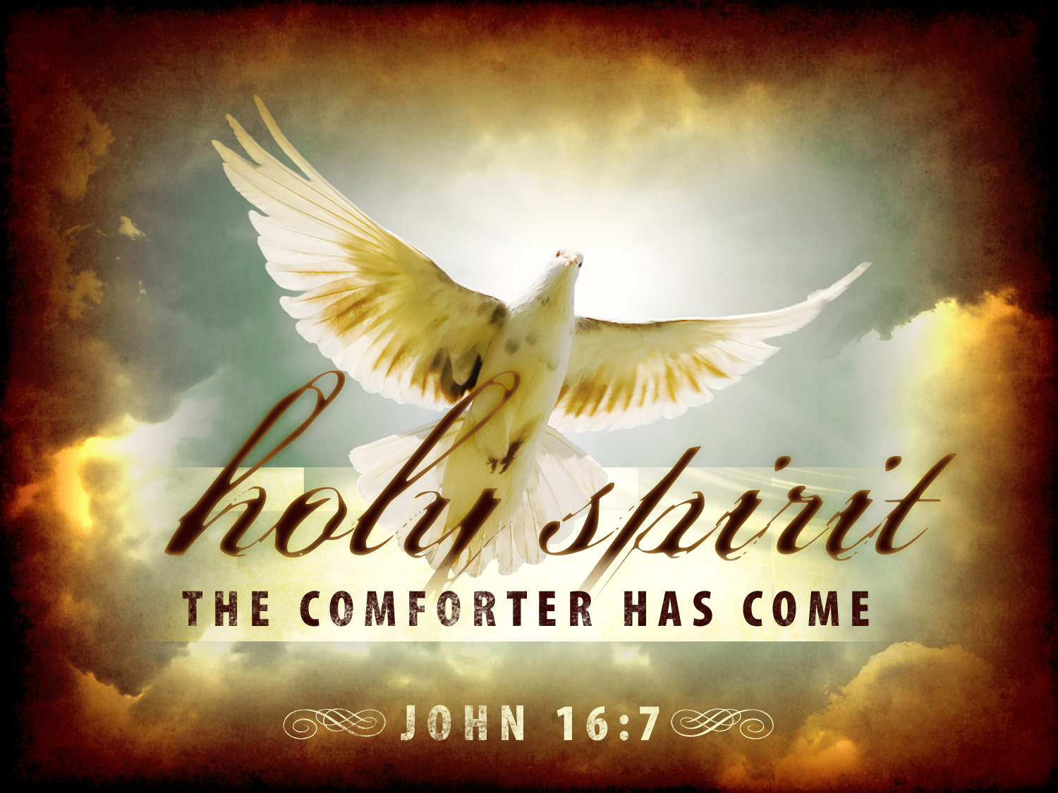 Christian Graphic Holy Spirit Dove Wallpaper Free Download Use On PC Mac