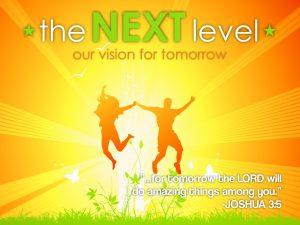 Christian Graphic: Next Level Wallpaper