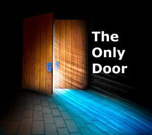John 10:7-8 – The Only Door Wallpaper