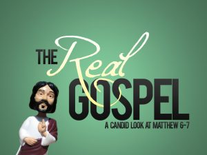 Christian Graphic: The Real Gospel Wallpaper