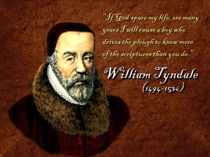 Christian Quote: William Tyndale Wallpaper