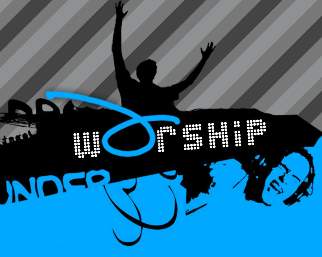 Christian Graphic: Worship christian wallpaper free download. Use on PC, Mac, Android, iPhone or any device you like.