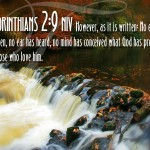 1 Corinthians 2:9 – Things That God Has Prepared Wallpaper Christian Background
