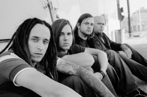 Christian Band: Above The Golden State Grayscale Photo Wallpaper