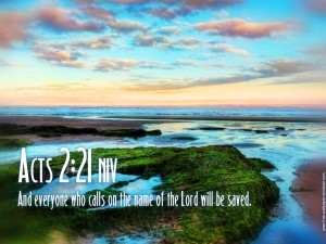 Acts 2:21 – Salvation Wallpaper