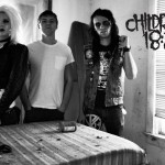 Christian Band: Children 18:3 Black And White Album Cover Wallpaper Christian Background