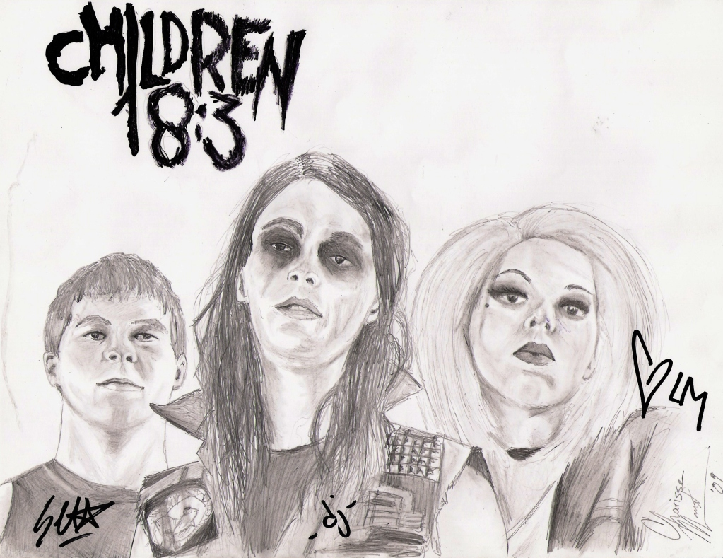 Christian Band: Children 18:3 Sketch christian wallpaper free download. Use on PC, Mac, Android, iPhone or any device you like.