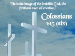 Colossians 1:15 – The Supremacy of the Son of God Wallpaper