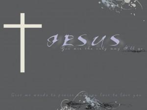 Christian Graphic: Cross Of Jesus Wallpaper