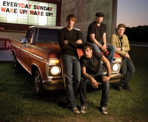 Christian Band: Everyday Sunday On Car Wallpaper