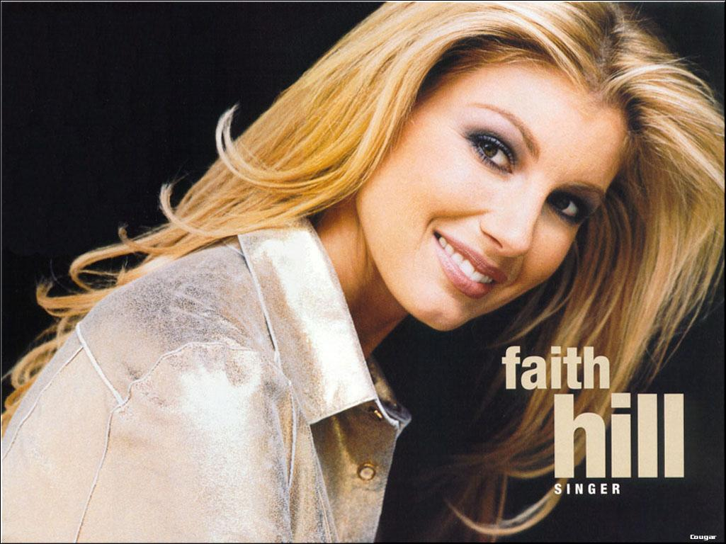 The country singer Faith Hill