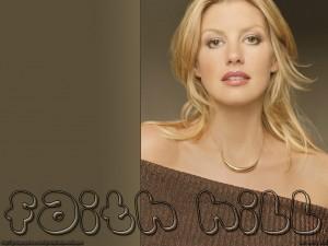Christian Singer: Faith Hill Album Cover Wallpaper