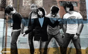 Christian Band: Family Force 5 In Action Wallpaper