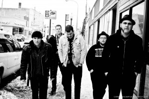 Christian Band: Flatfoot 562 Black and White Wallpaper