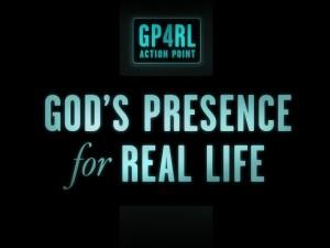 Christian Graphic: God's Presence Wallpaper