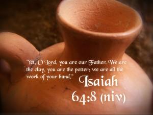 Isaiah 64:8 – Work of His Hands Wallpaper