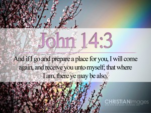 John 14:3 – He Will Come Again Wallpaper