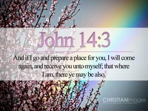 John 14:3 – He Will Come Again Wallpaper