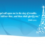 Psalm 50:15 – Honor Him Wallpaper Christian Background