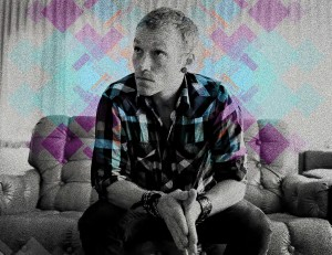 Christian Singer: Shawn McDonald On Sofa Wallpaper