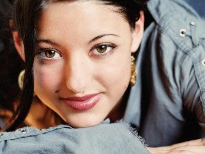 Christian Singer: Stacie Orrico's Beautiful Face Wallpaper
