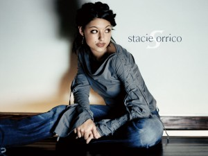 Christian Singer: Stacie Orrico Sitting Wallpaper