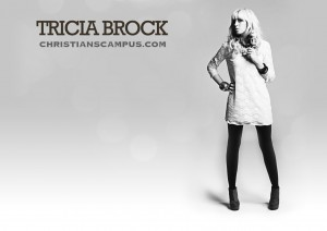 Christian Singer: Tricia Brock Standing Full Body Wallpaper