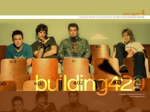 Christian Band: Building 429 Theater Seat Wallpaper