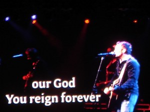 Chris Tomlin Live on Concert Wallpaper