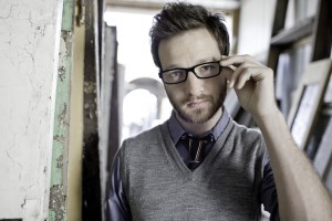 Christian Singer: Chris August On His Glasses Wallpaper