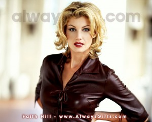 Christian Singer: Faith Hill Endorsement Image Wallpaper
