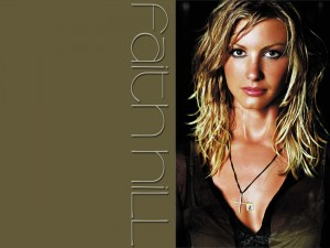 Christian Singer: Faith Hill Image Wallpaper