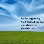 Genesis 1:1 – Creation Wallpaper Christian Background