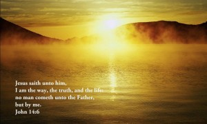 John 14:6 – The Way, Truth And Life Wallpaper