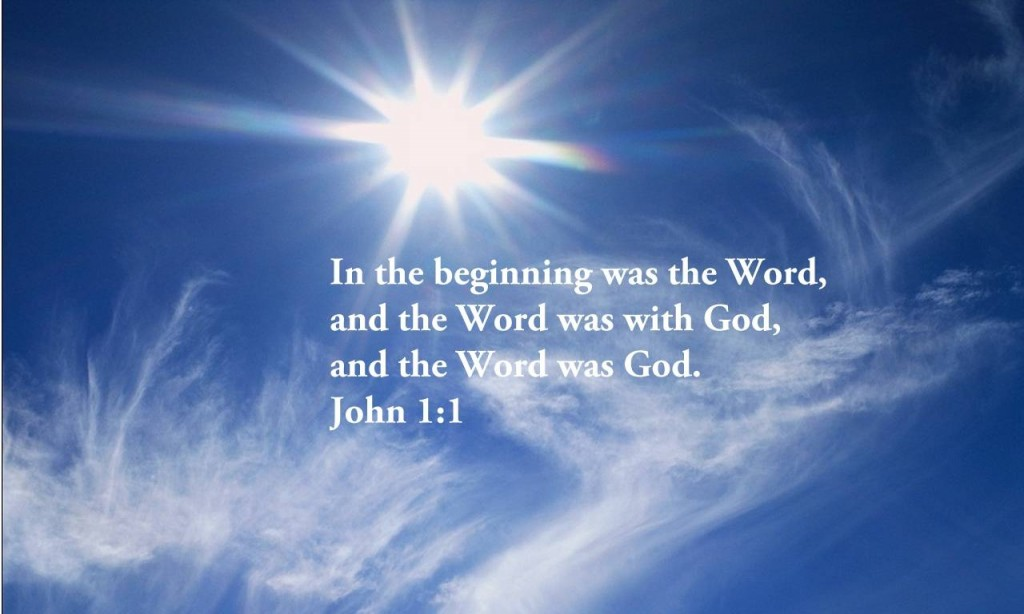 John 1:1 – The Word Became Flesh christian wallpaper free download. Use on PC, Mac, Android, iPhone or any device you like.