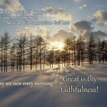 Christian Quotes: Great Is Thy Faithfulness Wallpaper Christian Background