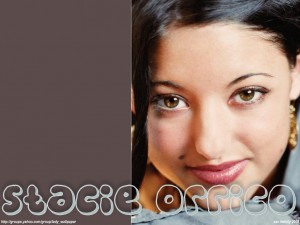 Christian Singer: Stacie Orrico Beautiful Face Wallpaper