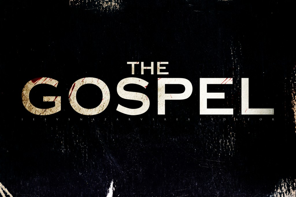 Christian Movie: The Gospel Black Background christian wallpaper free download. Use on PC, Mac, Android, iPhone or any device you like.