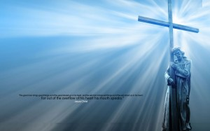 Jesus And The Cross Wallpaper