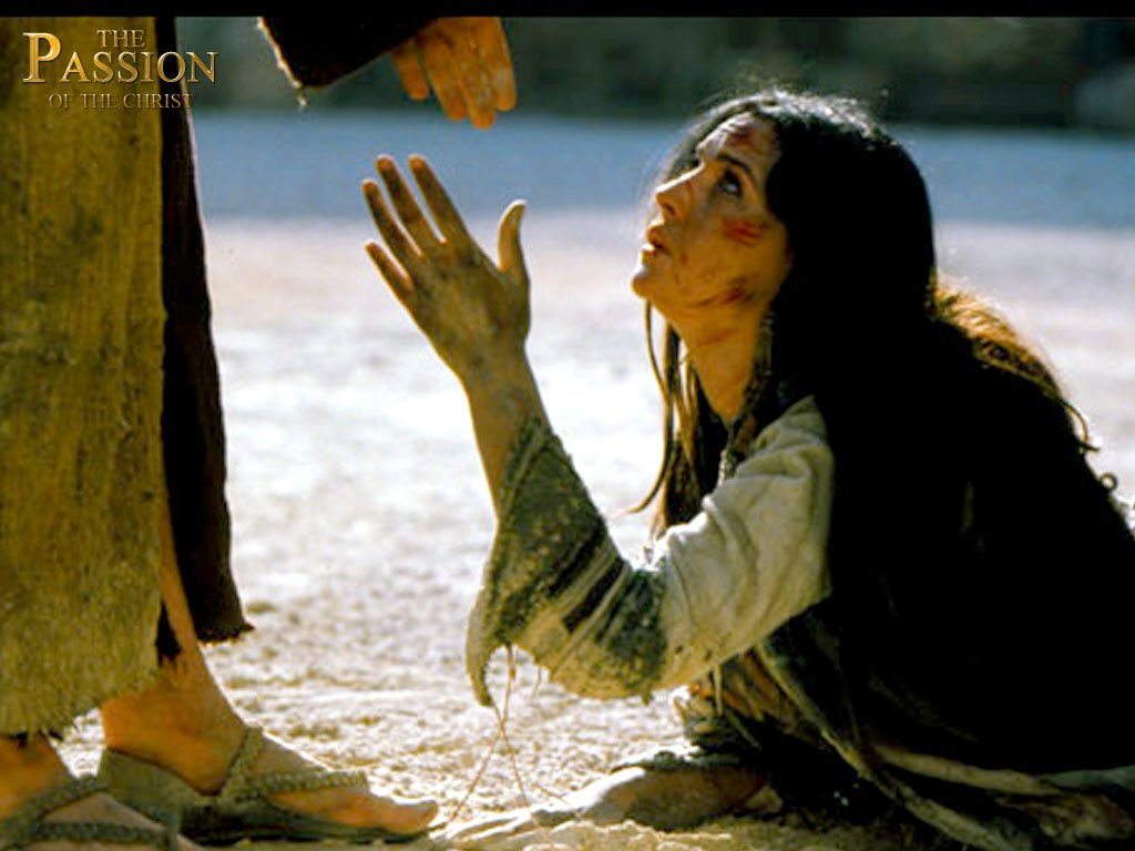 Christian Movie: The Passion Of The Christ Scene Wallpaper ...