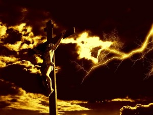 Christian Graphic: Crucifixion Of The Savior Wallpaper