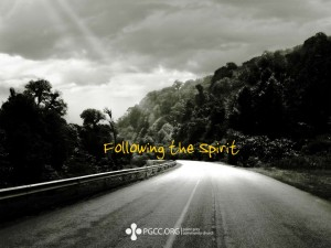 Christian Photography: Following The Spirit Wallpaper